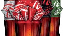 Coca-Cola met strik